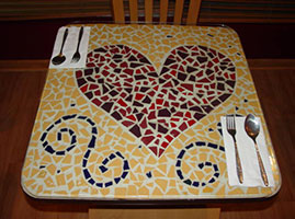 Heart Table